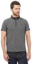 Voi Grey Geometric Polo Shirt