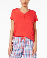 Karen Neuburger Short-Sleeve Pajama Top