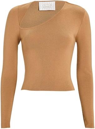 Victor Glemaud Asymmetrical V-Neck Sweater