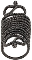 Thumbnail for your product : Loree Rodkin Snake Armour Ring
