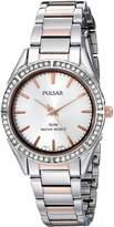 Pulsar Women's PH8129X Analog Display Analog Quartz Two Tone Watch
