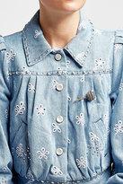 Marc Jacobs Lollipop Crystal Embellished Brooch