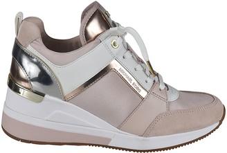 Michael Kors Metallic Detailing Sneakers