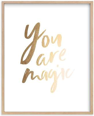 Pottery Barn Kids Magical Wall Art by Minted®, 11x14, Black