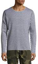 Ovadia & Sons Checkered Long Sleeve Sweater