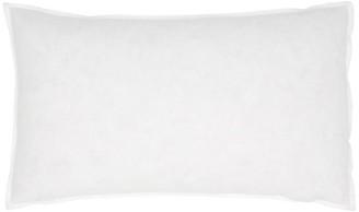 "Indigo Feather Pillow Insert 12"" x 21"""
