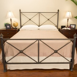 Benicia Foundry and Iron Works Chatham Standard Bed Size: California King