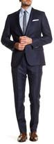 HUGO BOSS Hutson/Gander Two Button Notch Lapel Trim Fit Wool & Linen Suit