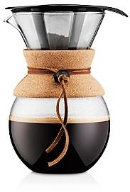 Bodum 34oz Cork Pour Over Coffee Maker