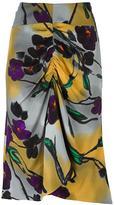 Marni Lucid print gathered skirt - women - Silk/Viscose - 38