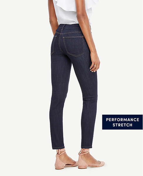 Ann Taylor Modern All Day Skinny Jeans in Evening Sea Wash