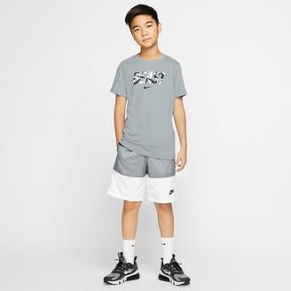 Nike Boys' Sportswear Colorblock Woven Swim Shorts