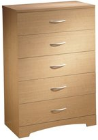 South Shore Furniture Step One Collection, 5-Drawer Chest, Natural