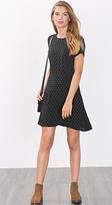 Esprit OUTLET flared minimalist print dress