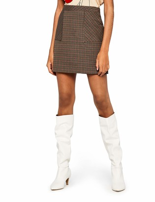 Find. Amazon Brand Women's Check Suit Skirt Skirt
