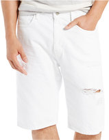 Levi's Men's 569 Loose-Fit White Shorts