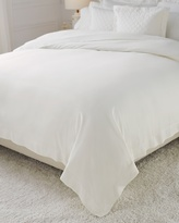 Soma Intimates Luxe Sateen Full/Queen Duvet Cover Ivory