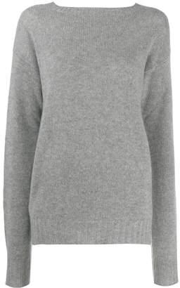 Prada cashmere boat neck sweater