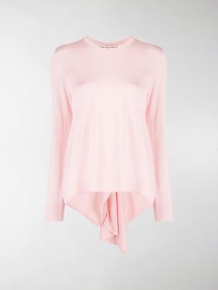 Comme des Garcons Asymmetric Sweater