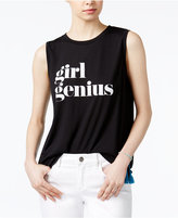 Rachel Roy Graphic Muscle T-Shirt, Only at Macy's