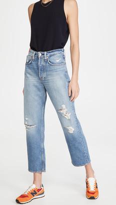 Rag & Bone Maya High Rise Ankle Straight Jeans