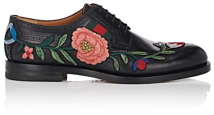 Gucci Men's Strand Leather Wingtip Bluchers