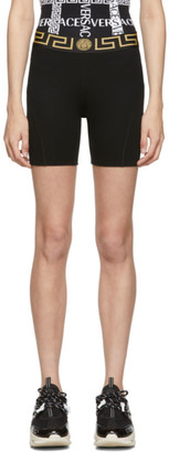 Versace Underwear Black Empire Medusa Bike Shorts