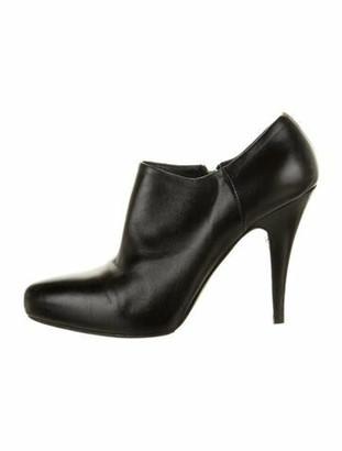 Prada Leather Boots Black