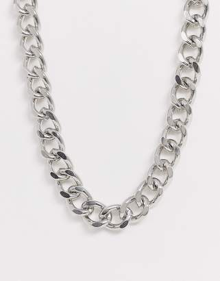 Liars & Lovers silver chunky chain necklace