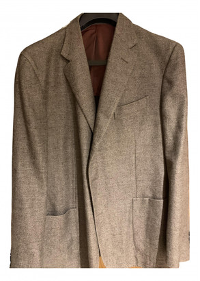 Boglioli Brown Wool Jackets