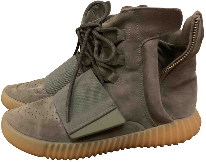Yeezy Boost 750 Grey Suede Trainers
