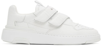 Givenchy White Velcro Wing Sneakers