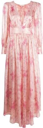 LoveShackFancy Floral Gown