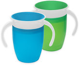 Munchkin Miracle® 360o 2-Pack 7 oz. Trainer Cups in Green/Blue