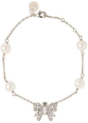 Miu Miu Micro-Bow Jewel Bracelet