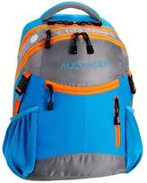 Pottery Barn Kids Backpack, Colton Bright Blue/Orange Trim
