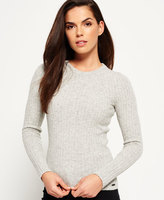 Superdry Luxe Ribbed Knit Sweater