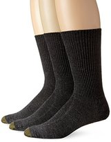 Gold Toe Men's Fluffies Casual Sock, 3-Pack