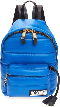 Moschino Puffy Nylon Backpack