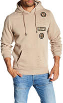 TR PREMIUM TR Premium Mens Fashion Fleece Ripped Hoodie