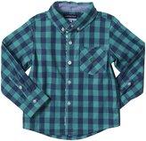 Andy & Evan Check Shirt (Toddler/Kid) - Green-4T