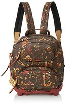Piero Guidi Be Magic, Women's Backpack Handbag, Marrone (Testa Di Moro), 29x35x13 cm (W x H L)