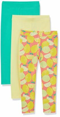 Amazon Essentials Girls' 3-Pack Leggings