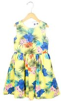 MSGM Girls' Floral Print A-Line Dress w/ Tags