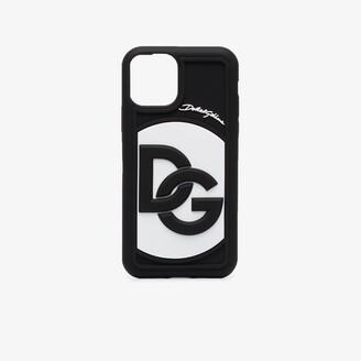 Dolce & Gabbana black logo iPhone 11 Pro case