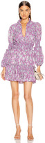 Alexis Rosewell Dress in Lilac Floral | FWRD