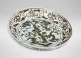 Ethan Allen Ming Scenic Low Bowl
