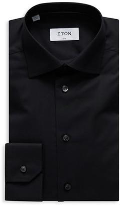 Eton Stretch Slim-Fit Cotton Dress Shirt