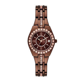 Fossil RELIC BY Relic By Womens Brown Bracelet Watch-Zr12195