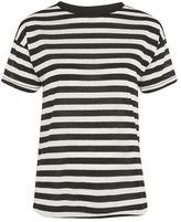 Topshop Bold stripe marl t-shirt